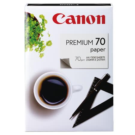 【Canon  影印紙】Canon 70P / A4 進口多功能影印紙(5包/箱)★買就送精美筆記本