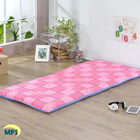 戀香 楓葉粉折疊單人床墊