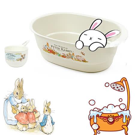 【クロワッサン科羅沙】Peter Rabbit~多用途橢圓盆+小手桶