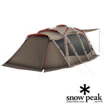 日本 Snow Peak 圓弧別墅帳篷