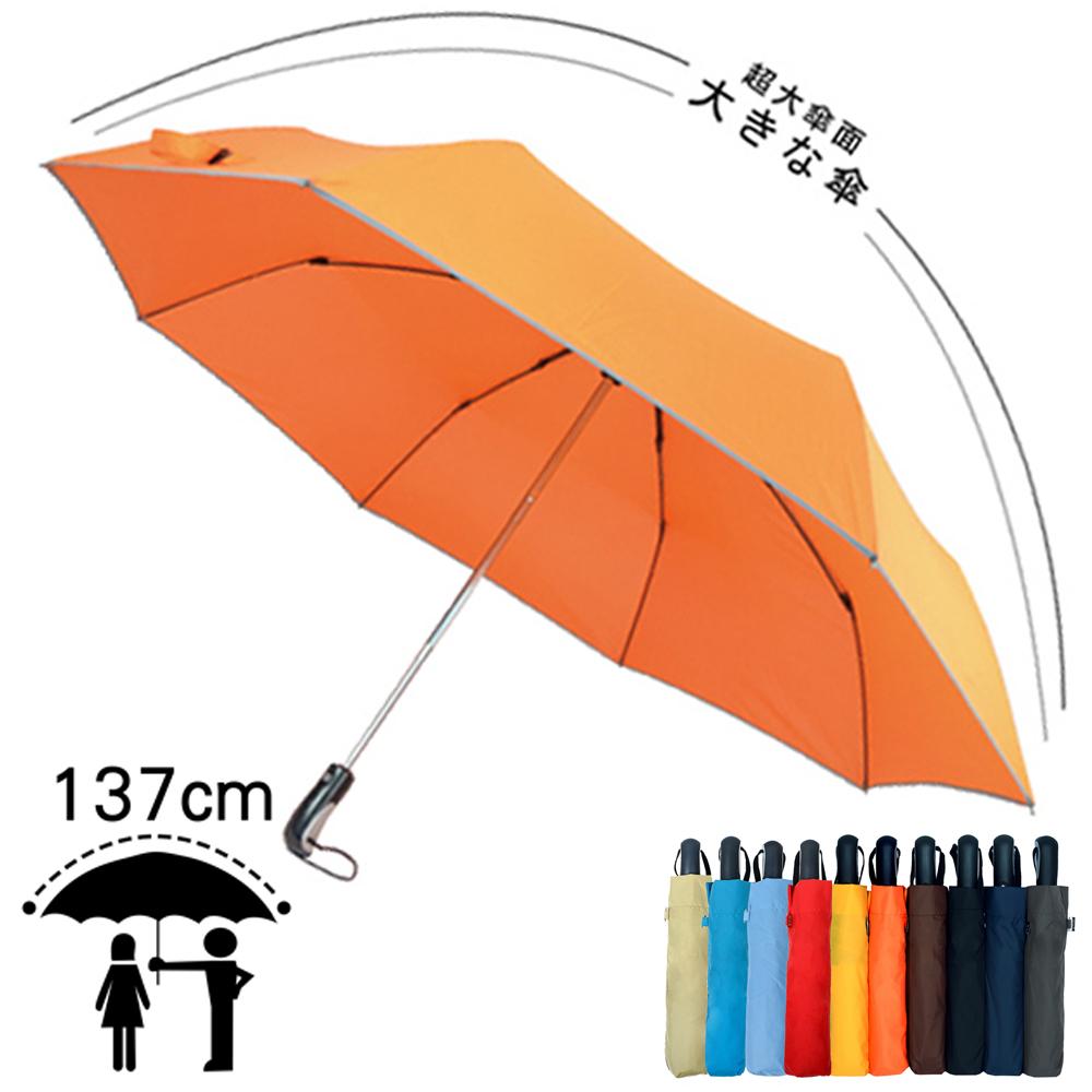 ~2mm~超大^! 型男超大傘面自動開收傘^(7色 ^)