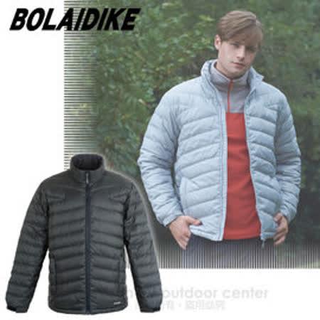 【波萊迪克bolaidike】男新款 立體輕量防潑水透氣保暖羽絨外套_TF039 深炭灰