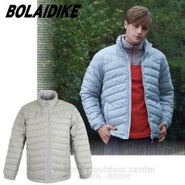 【波萊迪克bolaidike】男新款 立體輕量防潑水透氣保暖羽絨外套_TF039 淺灰