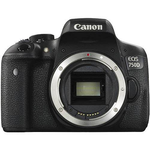 Canon EOS 750D body (公司貨)-送64G卡+原廠電池+快門線+遙控器+熱薛蓋+HDMI+減壓背帶+專用相機包