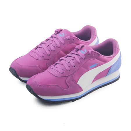 (大童)PUMA ST RUNNER NL JR 休閒鞋 紫紅/粉紫-35877007