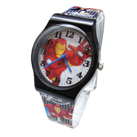【Marvel 漫威】卡通錶(大) - 英勇鋼鐵人