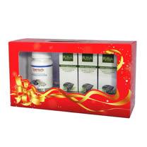 關心老爸護健康【碧荷柏】葡萄糖胺關護乳膏(勁涼綠x3)關護禮盒組+贈水解珍珠鈣x1