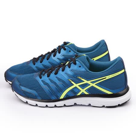 Asics 男款 GEL ZARACA 2 慢跑運動鞋T5K3N-5307-藍