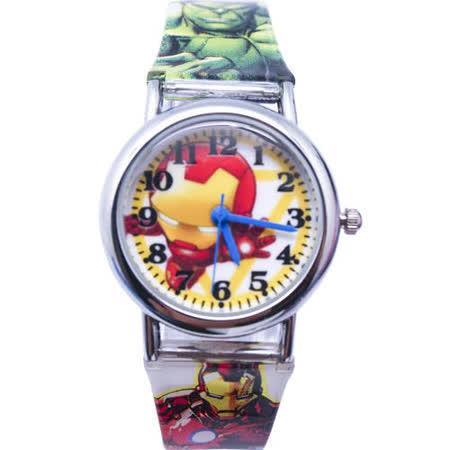 【Marvel-漫威】Q版復仇者系列兒童錶-–鋼鐵人