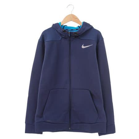 Nike (男)棉質-運動外套(連帽)-藍紫-644314410