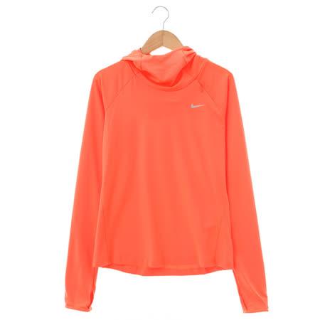 Nike (女)棉質-運動外套(連帽)-橘-685819877