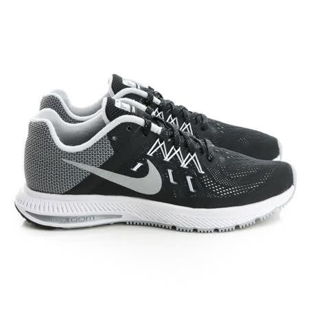 NIKE (女)慢跑鞋-黑灰-806579001