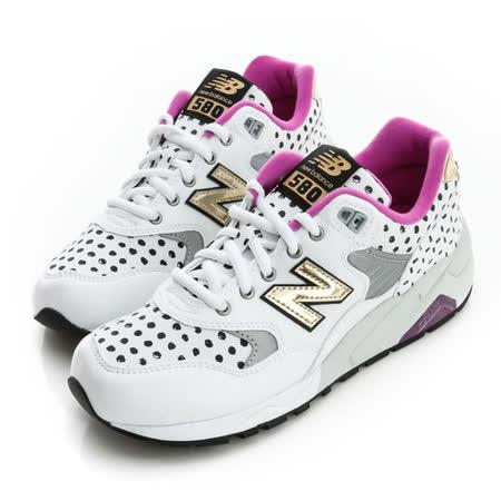 New Balance (女)經典復古鞋-白-WRT580MA