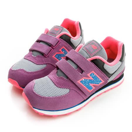 New Balance (童)慢跑鞋-紫-KV574O5Y