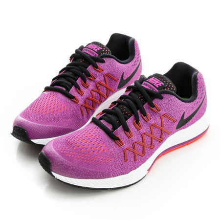 NIKE (女/童)慢跑鞋-紫紅-759972500