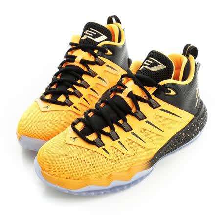 NIKE (童)籃球鞋-黃-810871012