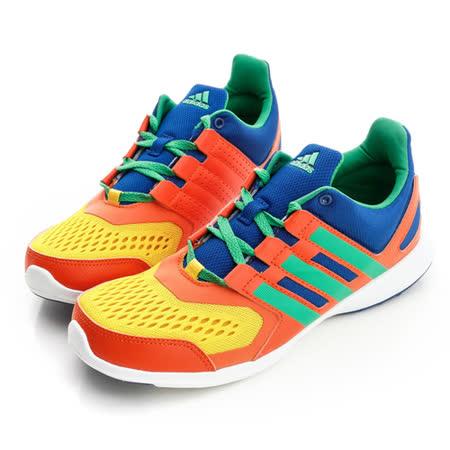 adidas (女)籃球鞋-橘黃-S82582