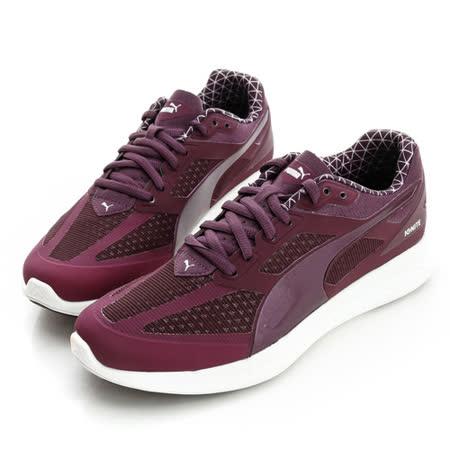 PUMA (女)慢跑鞋-紫-18811301