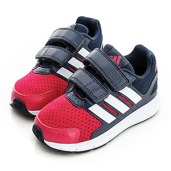 adidas (童)慢跑鞋-紅藍-B23851