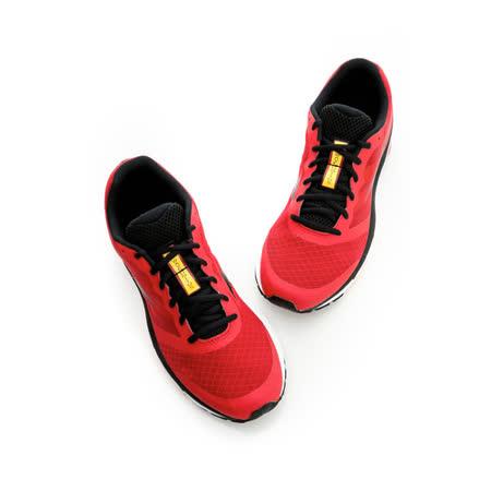 美津濃MIZUNO (男)慢跑鞋-紅-J1GE152189