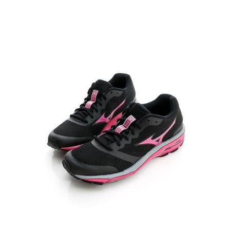 美津濃MIZUNO (女)慢跑鞋-黑-J1GF152164