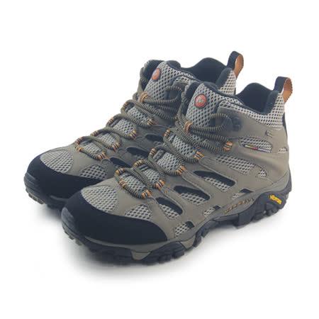(男)MERRELL MOAB MID GORE-TEX 戶外鞋 咖啡/黑-ML87311