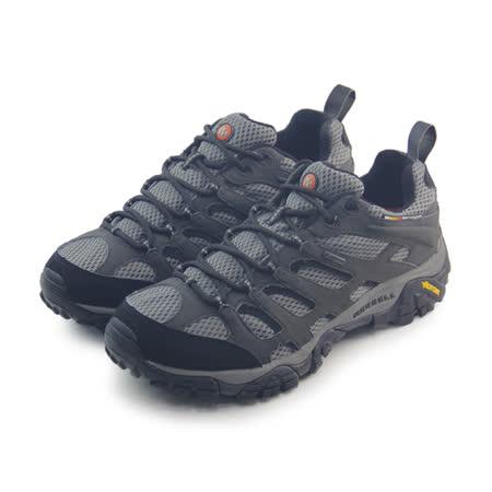 (男)MERRELL MOAB GORE-TEX 戶外鞋 灰-ML87577