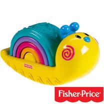 費雪牌 Fisher-Price 彩虹蝸牛疊疊樂
