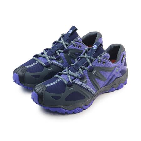 (女)MERRELL GRASSBOW SPORT GORE-TEX 戶外鞋 紫/深灰-ML32518