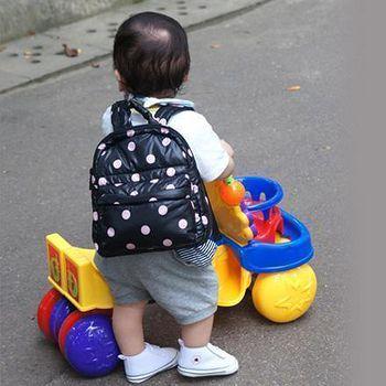 花花班尼 【HANABENE】經典極輕量-空氣包/寶寶包後背 (圓點粉)