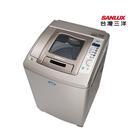 SANLUX台灣三洋17公斤變頻超音波(內外不鏽鋼)洗衣機SW-17DUA