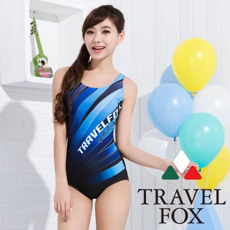 【夏之戀TRAVEL FOX】競泳款連身三角泳裝(C15729)