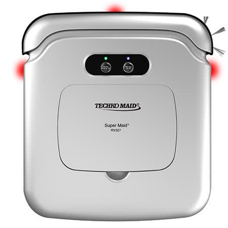 Techko Maid 聰明管家 RV327 掃地機器人 銀色