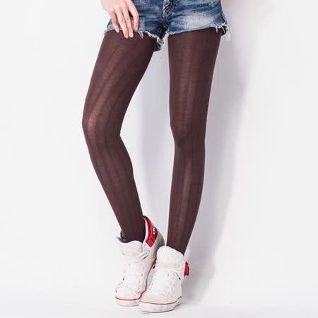 《MORINO摩力諾》摩登保暖12分褲襪 【買一送一】