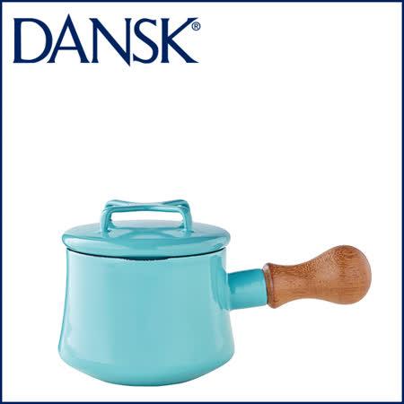 【DANSK】 Kobenstyle 木柄片手鍋 1QT(粉藍色)