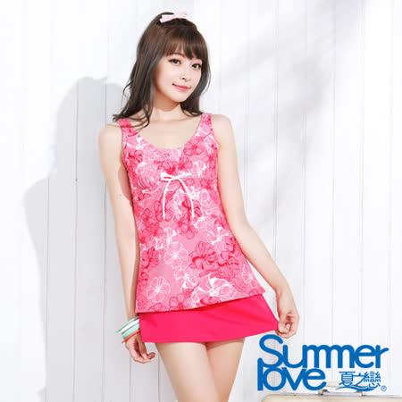 【夏之戀SUMMERLOVE】氣質魅力長版三件式泳衣(E15718)