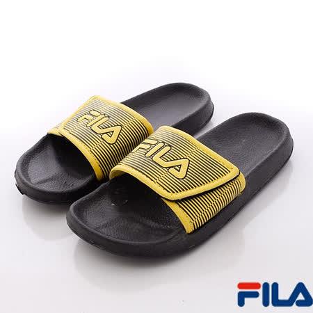 FILA頂級童鞋-休閒運動拖鞋S435P-900-(19cm~24cm)
