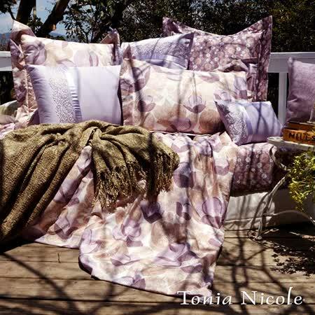 Tonia Nicole東妮寢飾卡蘿環保印染精梳棉兩用被床包組(雙人)
