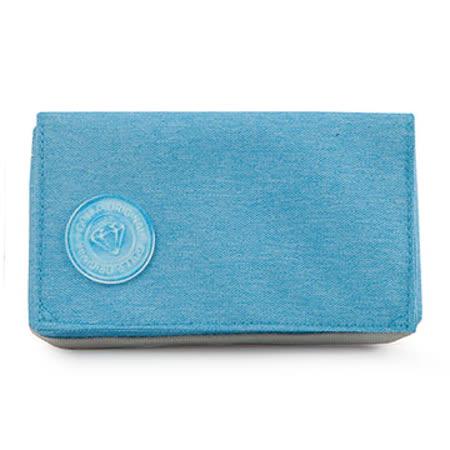 GOLLA 北歐芬蘭時尚極簡皮夾WALLET REEF(G1688)-藍
