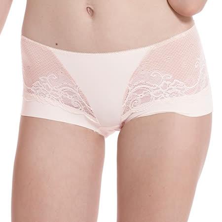 【LADY】涼感纖體美型系列 機能調整型 中腰平口褲(珊瑚橘)