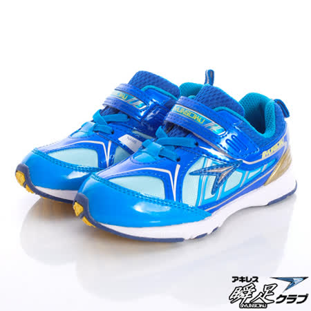 日本瞬足羽量競速童鞋-百年設計紀念款ESJC-9431 BK-(15cm~16cm)