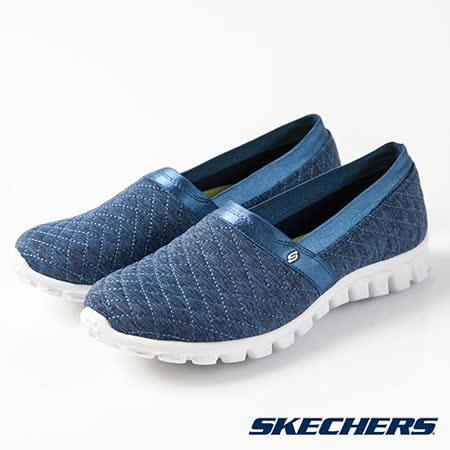 SKECHERS (女) 時尚休閒系列 EZ FLEX 2 - 22665NVY