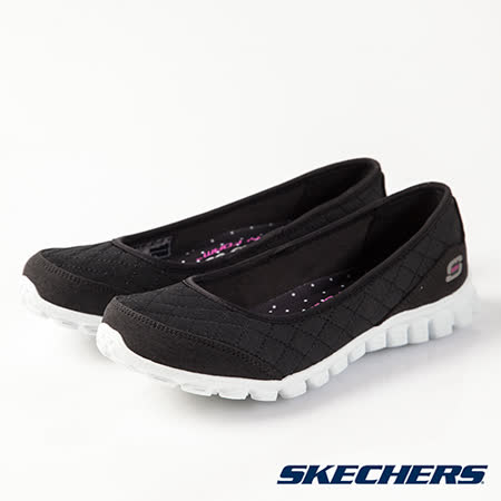 SKECHERS (女) 時尚休閒系列 EZ FLEX 2 - 22669BKW
