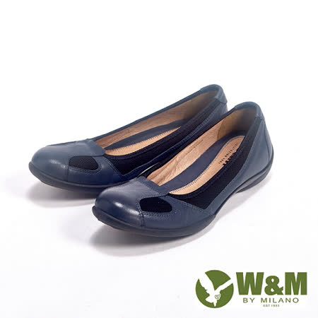 W&M (女)SOFIT系列 透氣簡約氣墊休閒女鞋-灰