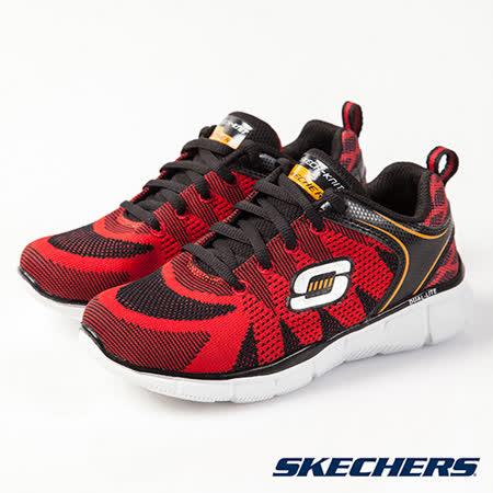 SKECHERS (童) 男童系列 Equalizer - 95520LRDBK