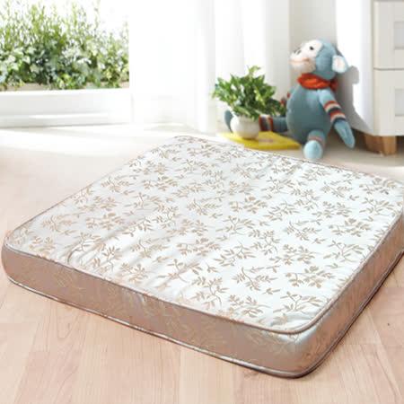 【KOTAS】貴族備長碳記憶可拆式坐墊 日式墊 和室墊 和式椅墊 米色