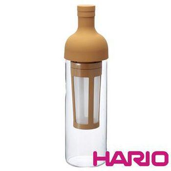HARIO 酒瓶冷泡咖啡壺焦糖色650ml (FIC-70-MC)