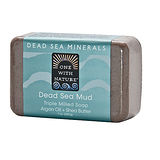 美國One With Nature死海礦物皂-死海泥DEAD SEA MUD SOAP