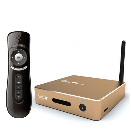 喬帝Lantic彩虹奇機四核心4K2K智慧電視盒TV Box(UHD-K2)-全配版