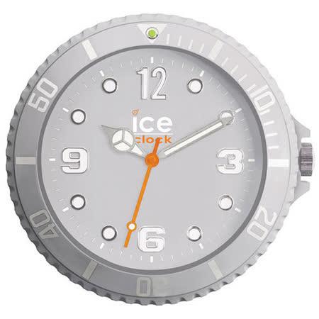 ICE-CLOCK - 玩味色彩質感掛鐘-灰/28cm